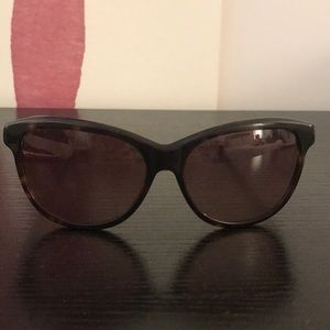 Diane Von Furstenberg Tortoise Sunglasses
